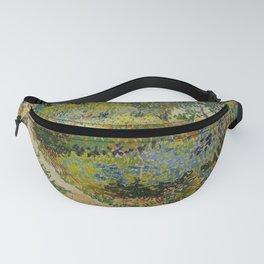 Vincent van Gogh - Garden at Arles (1888) Fanny Pack