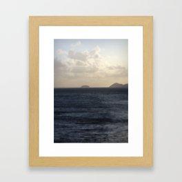 Far and Away Framed Art Print