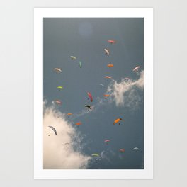 In the sky you can find answers Art Print
