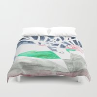 hunting Duvet Covers featuring Hunting Season by Autumn Steam