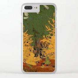 Tom Thomson Tamarack 1915 Canadian Landscape Artist Clear iPhone Case