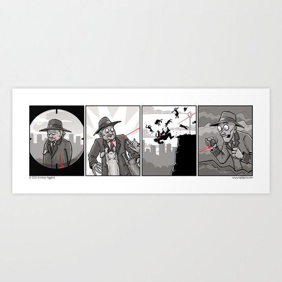 Laser Accuracy Art Print
