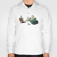 sheep Hoodies featuring Sheep by rob art | illustration
