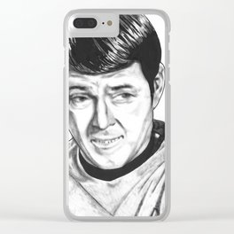 Scottie Clear iPhone Case