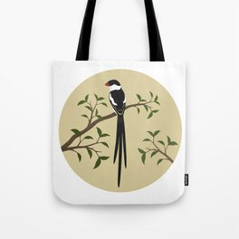 Pin-Tailed Wydah Tote Bag