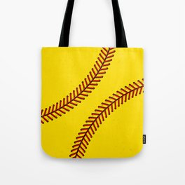 Fast Pitch Softball Tote Bag
