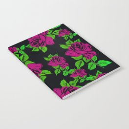 ROSES ROSES PINK AND GREEN Notebook
