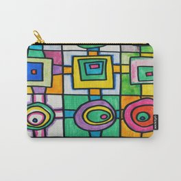 Fine Lines Carry-All Pouch
