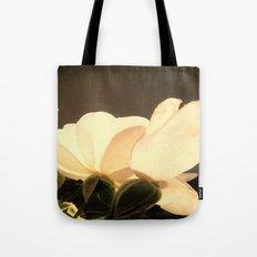 rose blossom leaves Tote Bag