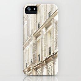 Grande facade de Paris iPhone Case