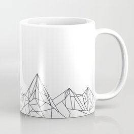 Night Court Mountain Design Coffee Mug