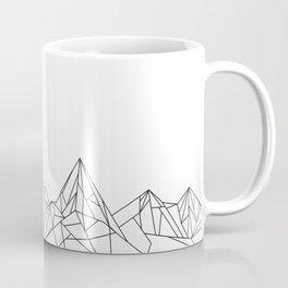 Night Court Mountain Design Coffee Mug