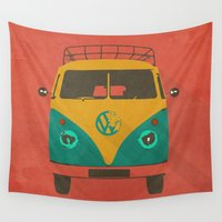 shadow Wall Tapestries featuring kombi shadow by Vin Zzep