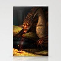 smaug Stationery Cards featuring Smaug by wolfanita