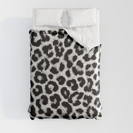 ReAL LeOparD B&W Comforters
