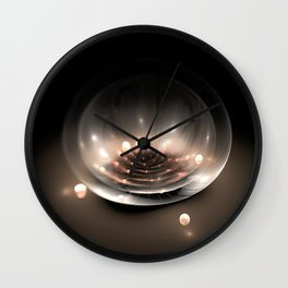 Something in a bowl Wall Clock