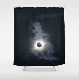Totality 2017 Shower Curtain