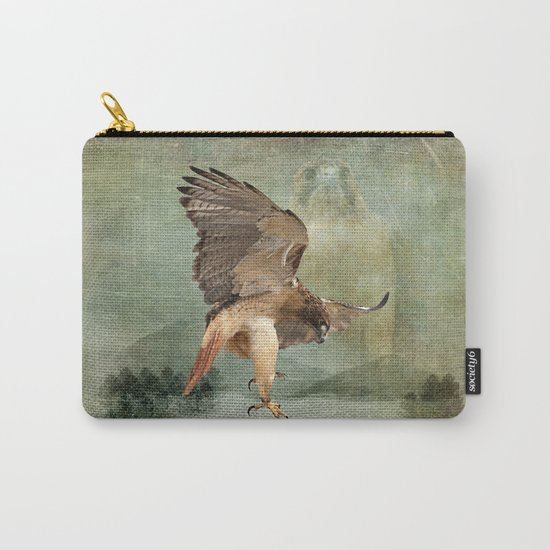 Feathered Fury Above Carry-All Pouch