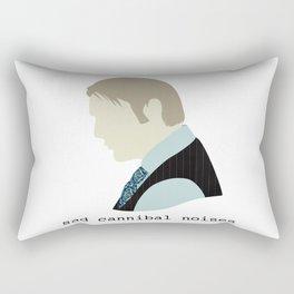Sad Cannibal Noises Rectangular Pillow