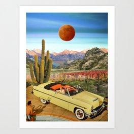 Summer trip Art Print