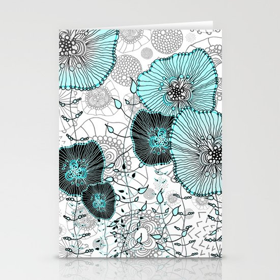 MYSTIC GARDEN MINT Stationery Cards