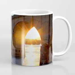 Sunset Bridge Coffee Mug
