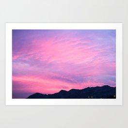 Pink Hues Art Print