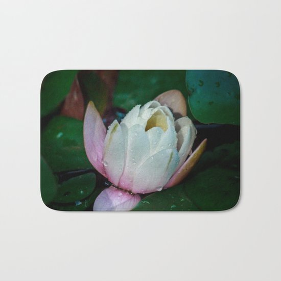 Water lily Bath Mat