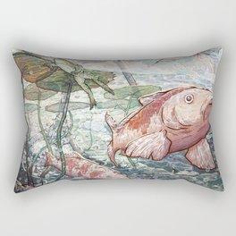 At the River Bend Rectangular Pillow