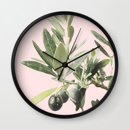 The time of olives Wall Clock