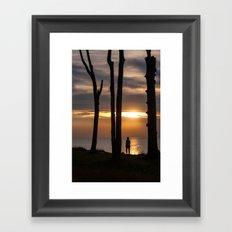 SUN SEEKER Framed Art Print
