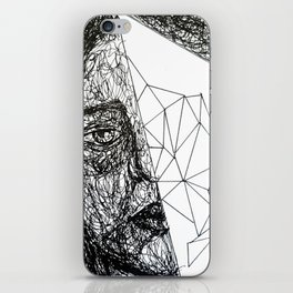 human and a bit of space and time  iPhone Skin