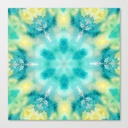 watercolor tie dye Canvas Print