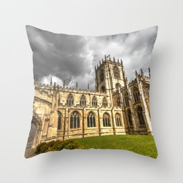 Old church in Beverley, eNGLAND Throw Pillow