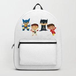 Teen Superheroes Backpack