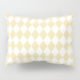 Rhombus (Vanilla/White) Pillow Sham