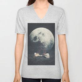 My Moon My Man My Love Unisex V-Neck
