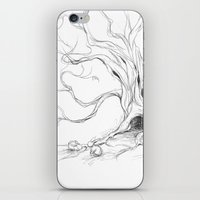 rabbits iPhone & iPod Skins featuring Rabbits by ejbeachy