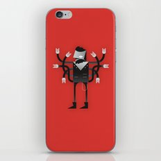 Back to Metal Business iPhone & iPod Skin