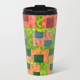 Added Color to a Colorful Wall Travel Mug