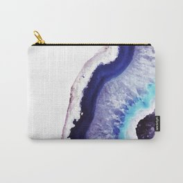 Violet Agate Art 1 Carry-All Pouch