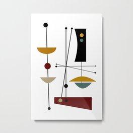 Mid Century Art 11 Metal Print