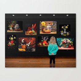 Art Observation by Great Granddaughter Canvas Print