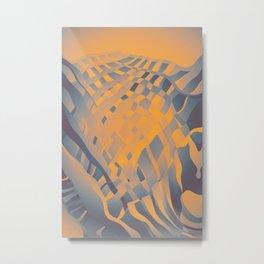 Nuclear Scarf Metal Print