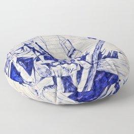 Nostalgic Dream/Tumbrils Floor Pillow