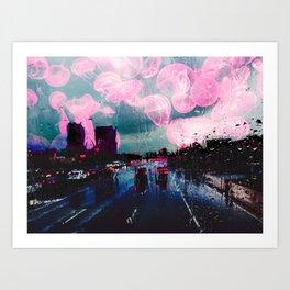 Jellyfish (in Brampton) Art Print