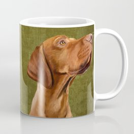 Magyar Vizsla portrait Coffee Mug