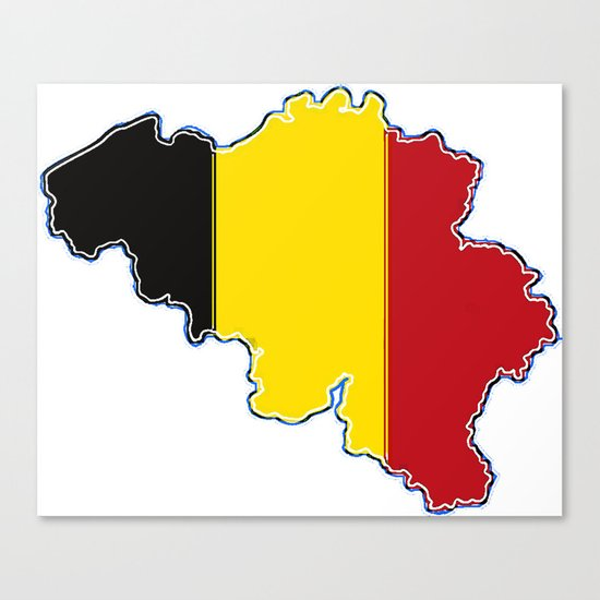 "Belgium Map Flag Travel Belgian Art 15x10cm #5795 Photograph 6x4/"""
