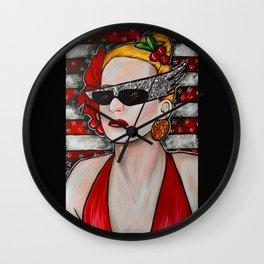 Joanna Stayton - Overboard  Wall Clock