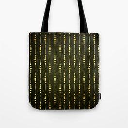 Art Deco Le Carnaval Pattern Tote Bag
